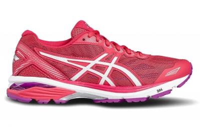 Chaussures de Running Femme Asics GT 1000 5 Blanc / Rose