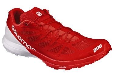 Salomon s lab sense 6 rouge blanc 44
