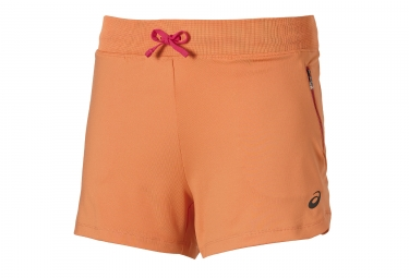 ASICS 2016 Short FuzeX 14cm tejido naranja