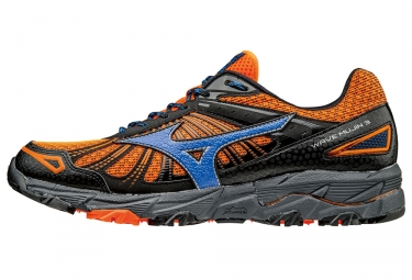 mizuno wave mujin 3 orange bleu homme 44