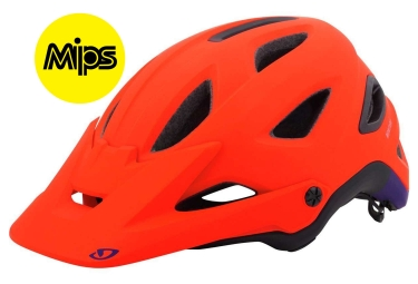 Casque All Mountain GIRO MONTARO MIPS Rouge Mat