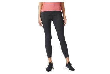 Collant 3/4 Femme adidas running ULTRA Gris Noir