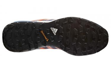 adidas running terrex agravic orange bleu homme 46