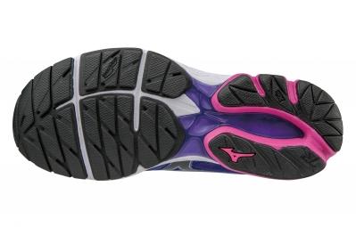 mizuno wave rider 20 violet rose femme 37