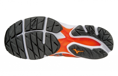mizuno wave rider 20 orange noir 45