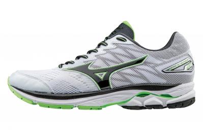 Chaussures de Running Mizuno Wave Rider 20 Argent / Vert