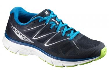 chaussures de running salomon sonic bleu blanc 46
