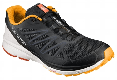 salomon sense marin noir orange blanc 45 1 3