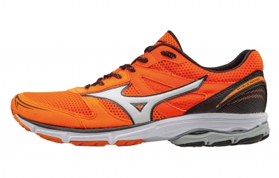 mizuno wave aero 15 orange argent 44 1 2