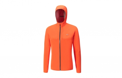 Veste Imperméable Mizuno Waterproof 20K Orange