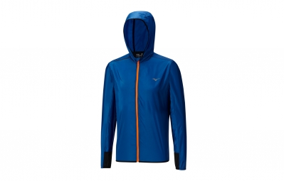 veste coupe vent mizuno lightweight bleu s