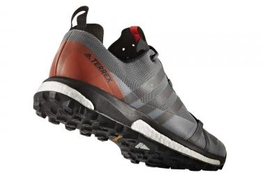 Chaussures de Trail adidas running Terrex Agravic Gris / Orange