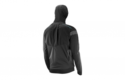 Veste Imperméable SALOMON S-Lab Hybrid Noir