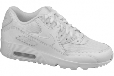 Nike air max 90 mesh gs 833418 100 blanc 35 1 2
