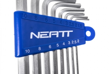 NEATT Allen Wrenches Set 8 Allen 2 2.5 3 4 5 6 8 10