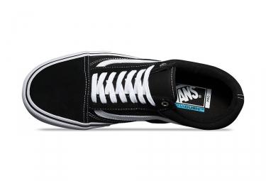 Chaussures Vans Old Skool Pro Noir Blanc
