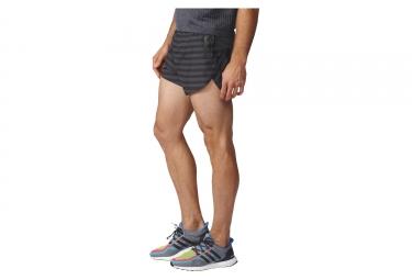Short de Sport adidas running adizero Gris Noir