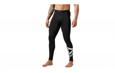Collant Long Compression Homme Reebok WORKOUT READY Noir