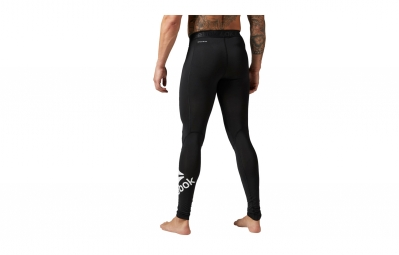collant long compression homme reebok workout ready noir s