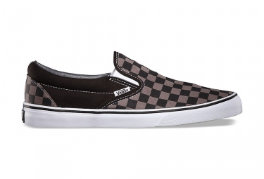 chaussures vans slip on noir gris 42 1 2