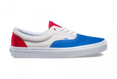 Chaussures vans era gris bleu rouge 41