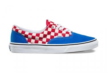 chaussures vans era bleu rouge 42