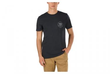 T-Shirt Vans Original Rubber Noir