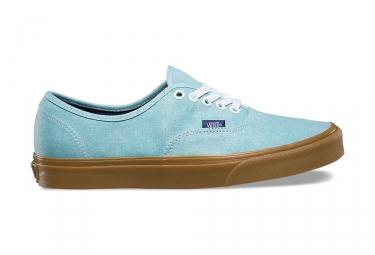 Chaussures vans authentic bleu marron 44