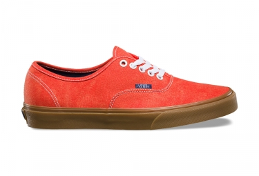 Sneaker Vans Vans Authentic Shoes Rojo Marrón