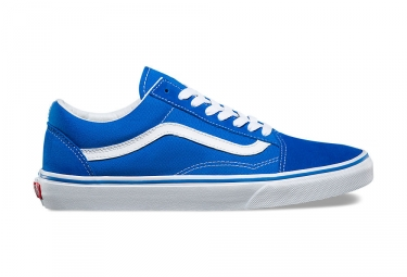 chaussures vans old skool bleu blanc 42 1 2