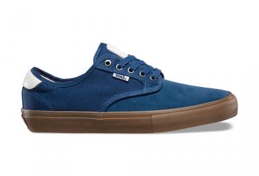 Chaussures vans chima ferguson pro bleu marron 45