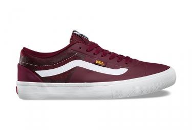 chaussures vans av rapidweld pro rouge blanc 42