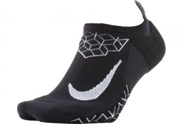 paire de chaussettes nike dry elite cushion noir 38 40