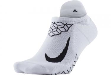 Paire de chaussettes nike dry elite cushion blanc noir 44 45