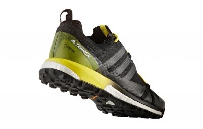 Chaussures de Trail adidas running Terrex Agravic GTX Noir / Jaune