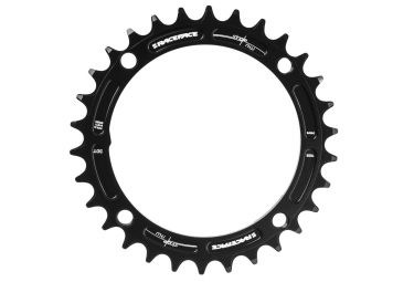 race face mono plateau narrow wide 104 mm noir taraude 30