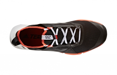 Chaussures de Trail adidas running Terrex Agravic Speed Blanc / Noir / Orange
