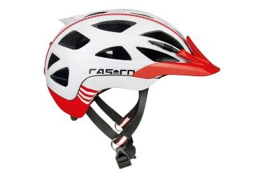Casque Ville CASCO Activ 2 Blanc Rouge