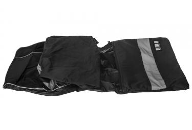Veste RFX Raincover Poncho pour vélo de ville Noir