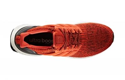 adidas running ULTRA BOOST Orange Noir Homme