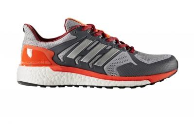 Chaussures de Running adidas running Supernova ST Gris / Orange