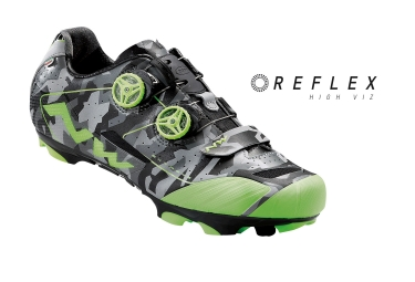 paire de chaussures northwave extreme xcm camouflage vert 47