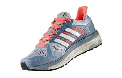 adidas running supernova st bleu rose femme 36