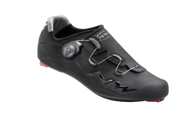 chaussures route northwave 2017 flash carbon noir 45