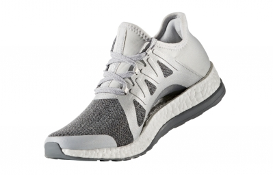 adidas running PURE BOOST XPOSE Gris Argent Femme