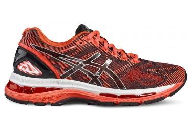 asics gel nimbus 19 femme rose orange 37 1 2