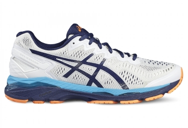 asics gel kayano 23 blanc orange 40 1 2