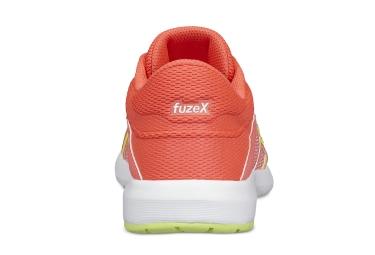 Chaussures Enfant Asics FuzeX Lyte 2 GS Blanc / Rouge