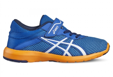 Asics fuzex lyte 2 ps garcon bleu orange 33