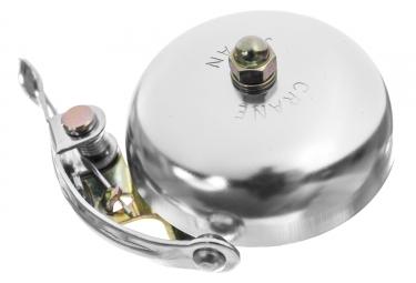 Sonnette Crane Bells Suzu Aluminium Argent